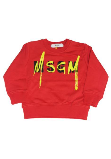 Felpa MSGM MSGM | Felpa | 023924ROSSO