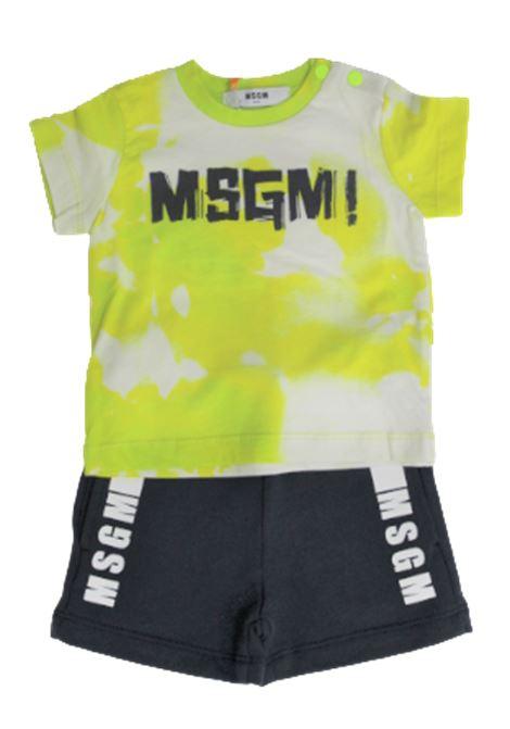 Completo MSGM MSGM | Completo | 024008GIALLO BLU