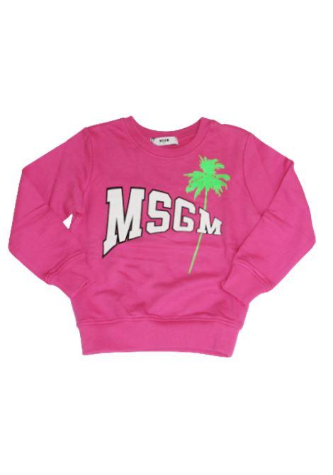 FELPA MSGM MSGM | Felpa | MSG175FUXIA