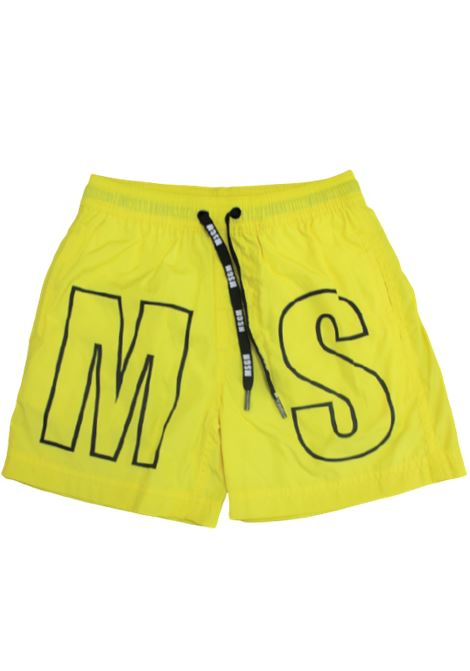 MSGM | swimsuit | MSG62GIALLO
