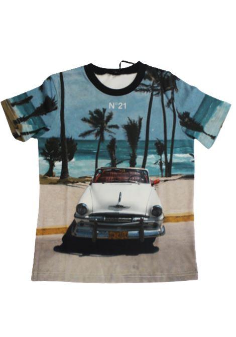 T-shirt N21 N21 | T-shirt | N21496AZZURRO FANTASIA