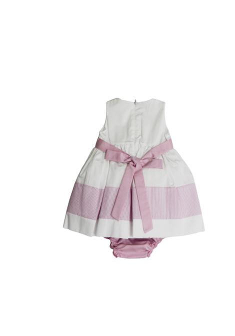 NINNAHO | Dress | E2062BIANCO ROSA