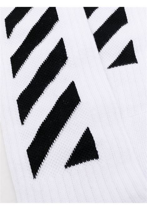 Calzettoni Off White OFF WHITE | Calzettoni | OMRA001E/20KNI003011BIANCO