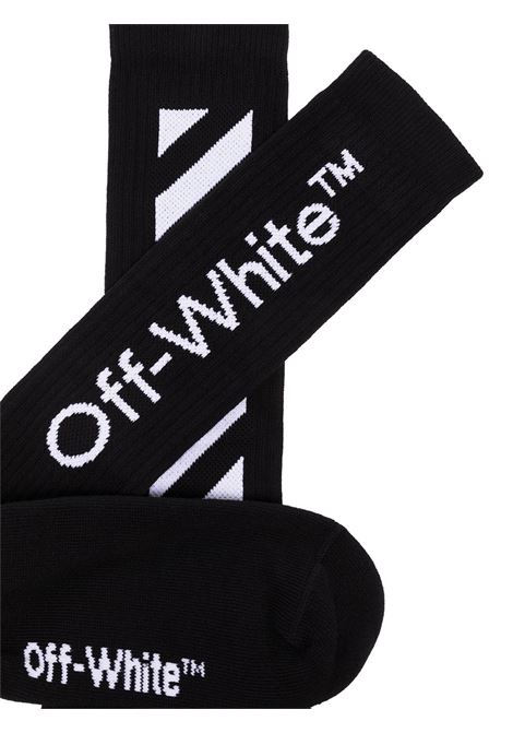 OFF WHITE | knee sock | OMRA001E/20KNI003011NERO