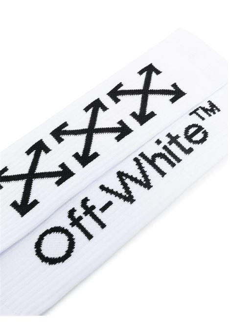 OFF WHITE | knee sock | OMRA001E20KNI002BIANCO