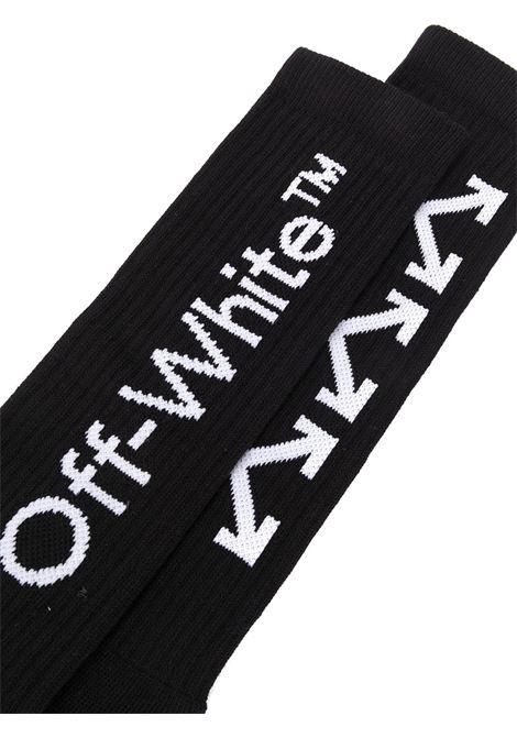 OFF WHITE | knee sock | OMRA001E20KNI002NERO