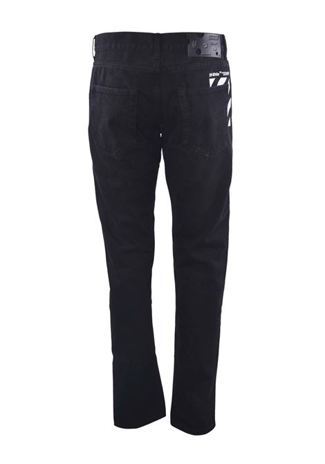 OFF WHITE | jeans  | OMYA011F20NERO
