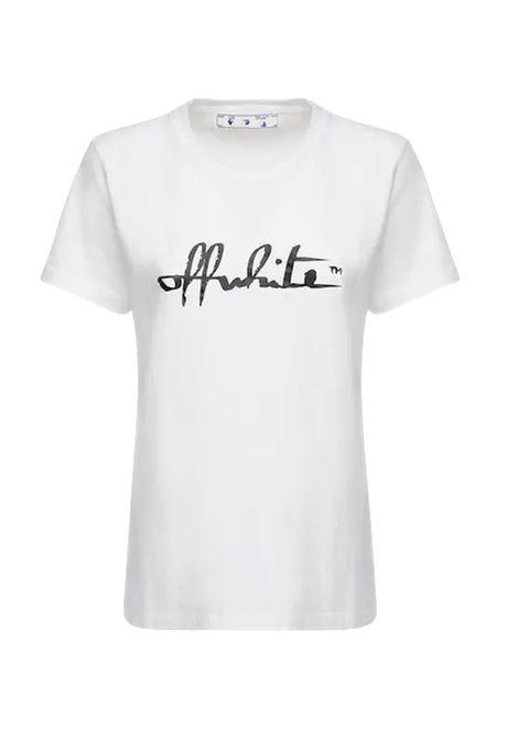 OFF WHITE | T-shirt | OWAA049BIANCO