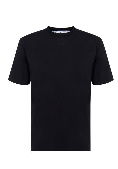 OFF WHITE | T-shirt | OWAA049E20JER01356NERO