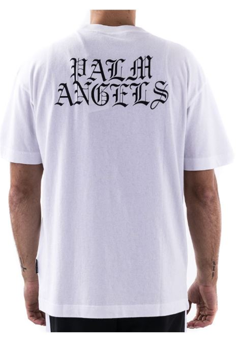T-shirt Palm Angels PALM ANGELS   T-shirt   PMAA001R21JER040118BIANCO
