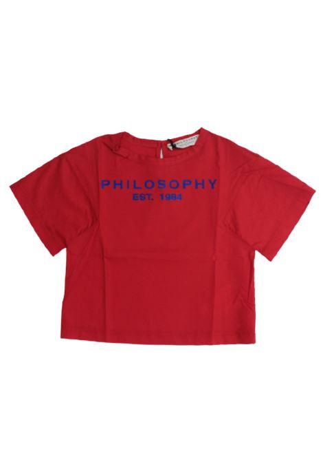 PHILOSOPHY | shirt | CA244ROSSO