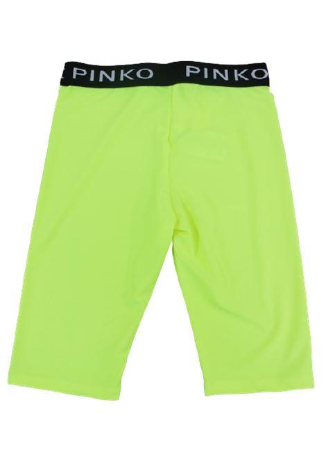 PINKO | leggins | 022265GIALLO FLUO