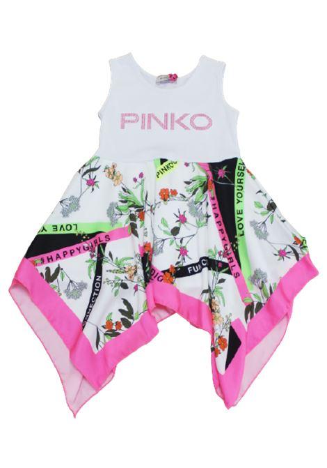 Abito Pinko PINKO | Abito | 024523BIANCO FANTASIA
