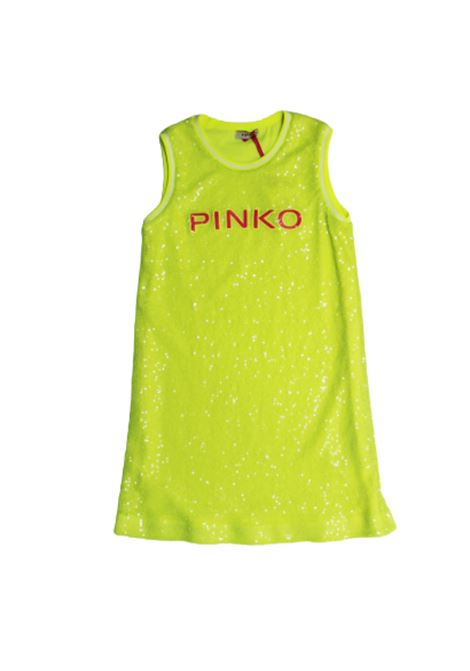 PINKO | Dress | 024589GIALLO FLUO