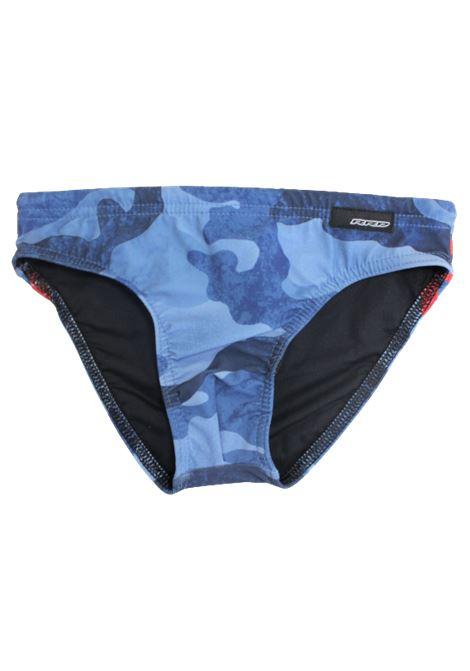 RRD | swimsuit | RRD05MIMETICO AZZURRO