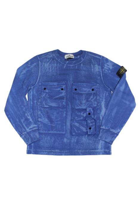STONE ISLAND | sweatshirt | 721662245BLUETTE