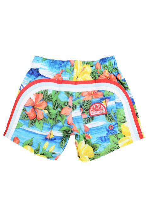 SUNDEK | swimsuit | B504BDP01HAAZZURRO FANTASIA