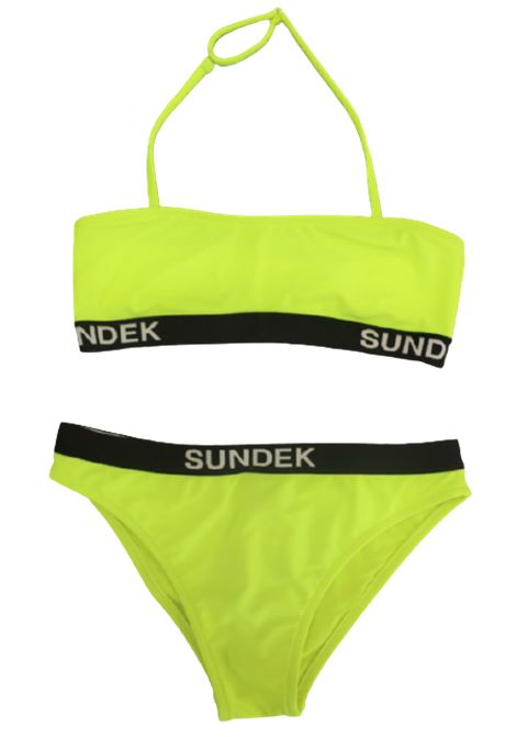 SUNDEK | swimsuit | G266KNL4200GIALLO FLUO