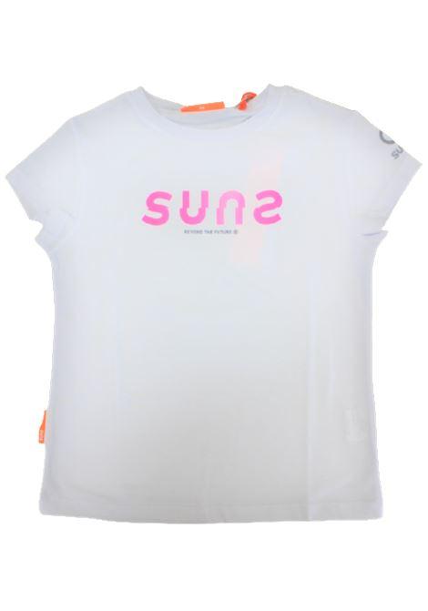 SUNS   T-shirt   TSS11050DBIANCO