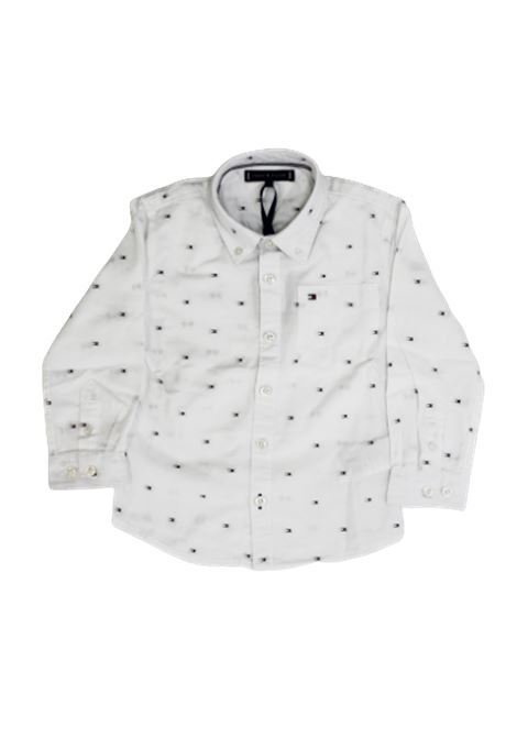 TOMMY HILFIGER | shirt | KB0KB05410YAFBIANCO