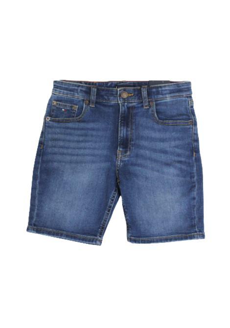 TOMMY HILFIGER | Bermuda pants  | KB0KB05572IBAJEANS