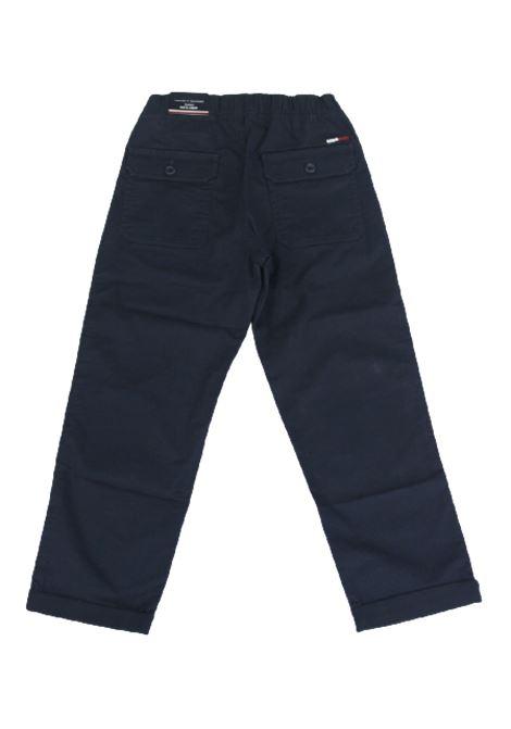 TOMMY HILFIGER | trousers | KB0KB05593C87BLU