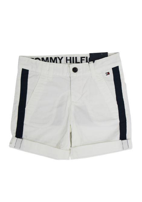 TOMMY HILFIGER | Bermuda pants  | KB0KB05602YBRBIANCO