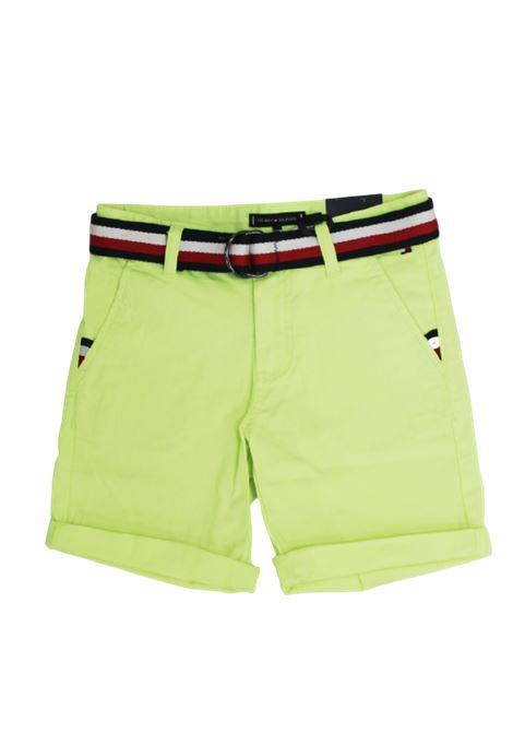 TOMMY HILFIGER | Bermuda pants  | KB0KB05603ZAAGIALLO