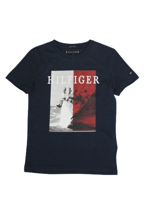 TOMMY HILFIGER | T-shirt | KB0KB05638C87BLU