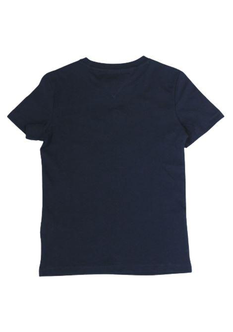 T-shirt Tommy Hilfiger TOMMY HILFIGER | T-shirt | KB0KB05638C87BLU