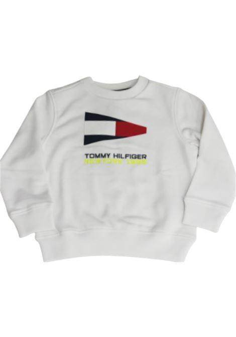 TOMMY HILFIGER | sweatshirt | KB0KB05650YBRBIANCO