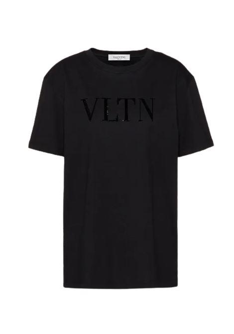 T-SHIRT VALENTINO VALENTINO | T-shirt | UB3MG08PNERO