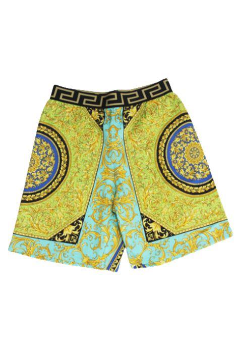 VERSACE | Bermuda pants  | YD0001844VERDE FANTASIA
