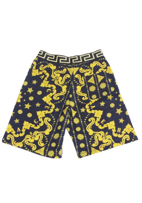 VERSACE | Bermuda pants  | YD000184BLU FANTASIA