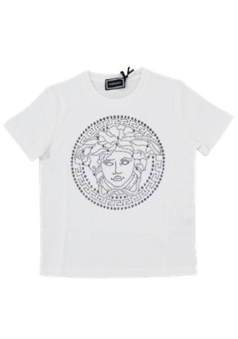VERSACE   T-shirt   YD000204BIANCO