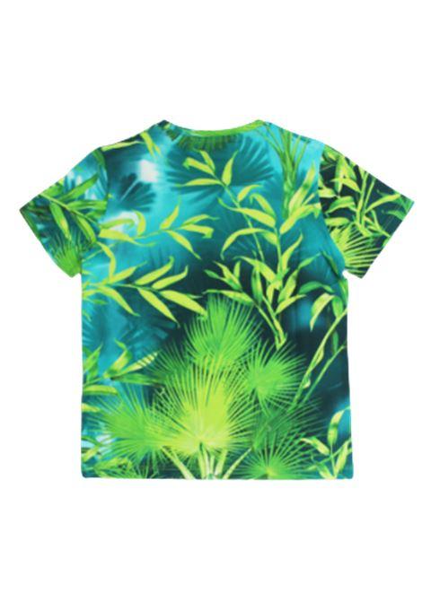 VERSACE | T-shirt | YD000303VERDE FANTASIA