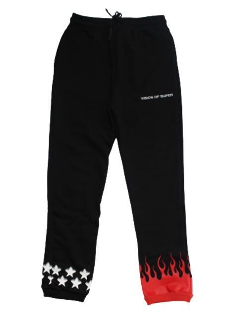 VISION OF SUPER | trousers | KB4STARFLNERO