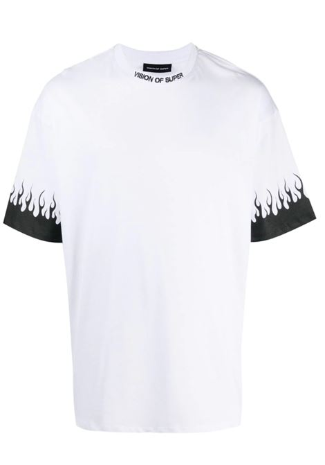 VISION OF SUPER | T-shirt | KW1FLBLACKBIANCO