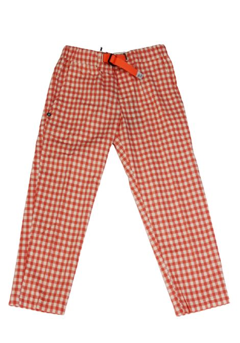 WHITE SAND | trousers | 20SZ16350BIANCO QUADRI