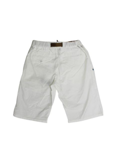 WHITE SAND | Bermuda pants  | 20SZ5104BIANCO
