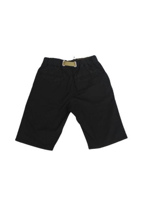 WHITE SAND | Bermuda pants  | 20SZ5104NERO