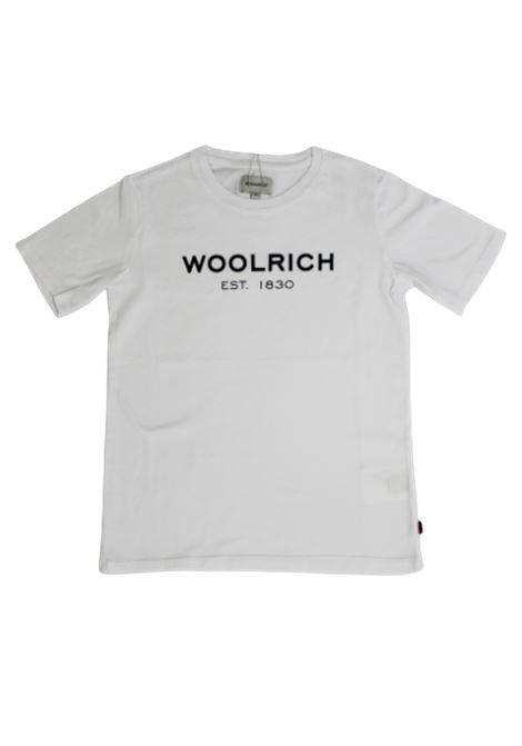 T-shirt Woolrich WOOLRICH | T-shirt | CFWKTE0045MRUT1486BIANCO