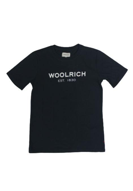 T-shirt Woolrich WOOLRICH | T-shirt | CFWKTE0045MRUT1486BLU