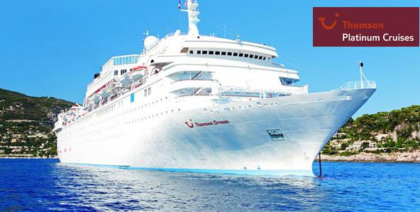 Thomson Cruise Ship UK