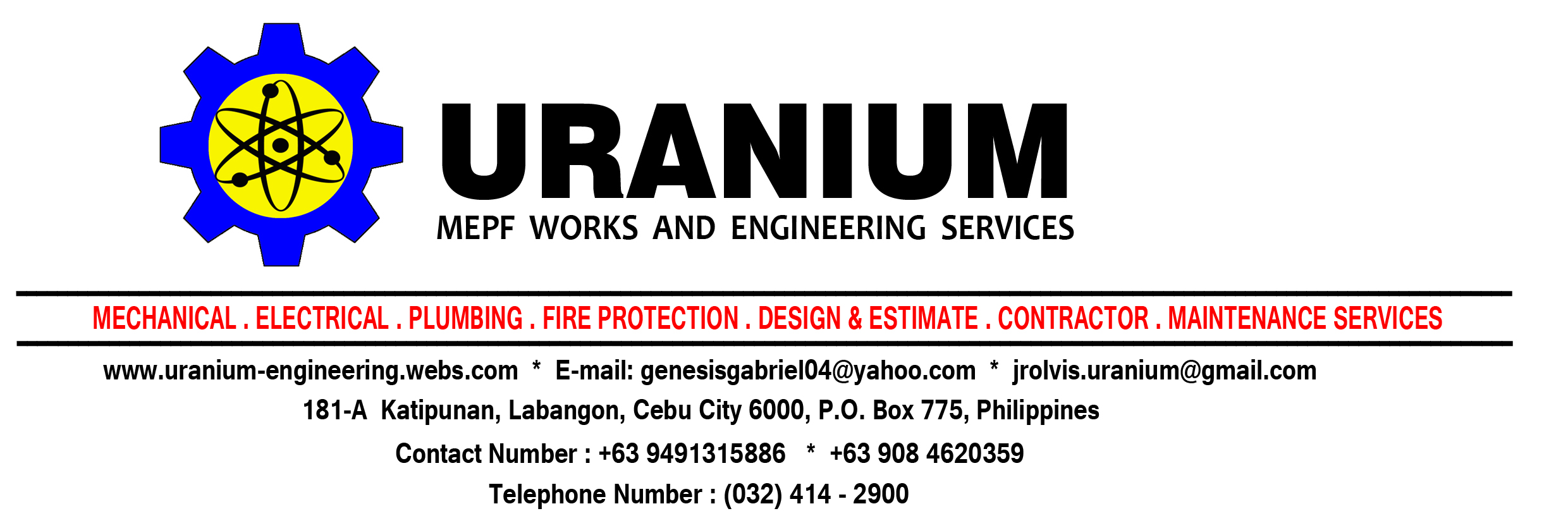 Uranium MEPF Works & Engineering Services
