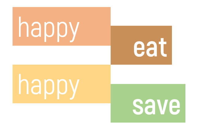 Happy Eat Happy Save