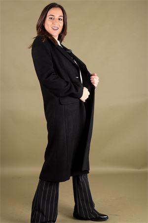Cappotto monopetto in velour di lana CRISTINAEFFE MILANO CristinaEffe Milano | 17 | CAPPOTTO EMMA00002