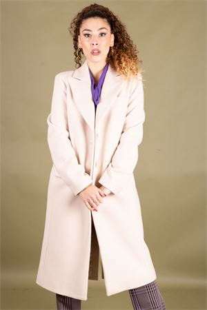 Cappotto monopetto in velour di lana CRISTINAEFFE MILANO CristinaEffe Milano | 17 | CAPPOTTO EMMA02023