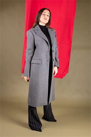 Cappotto monopetto in velour di lana CRISTINAEFFE MILANO CristinaEffe Milano | 17 | CAPPOTTO EMMA01970