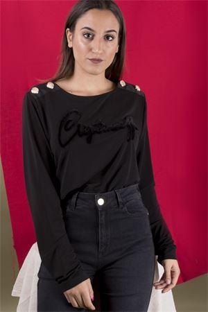 T-shirt logo velvet CRISTINAEFFE MILANO CristinaEffe Milano | 7 | MAGLIA LOGO0002